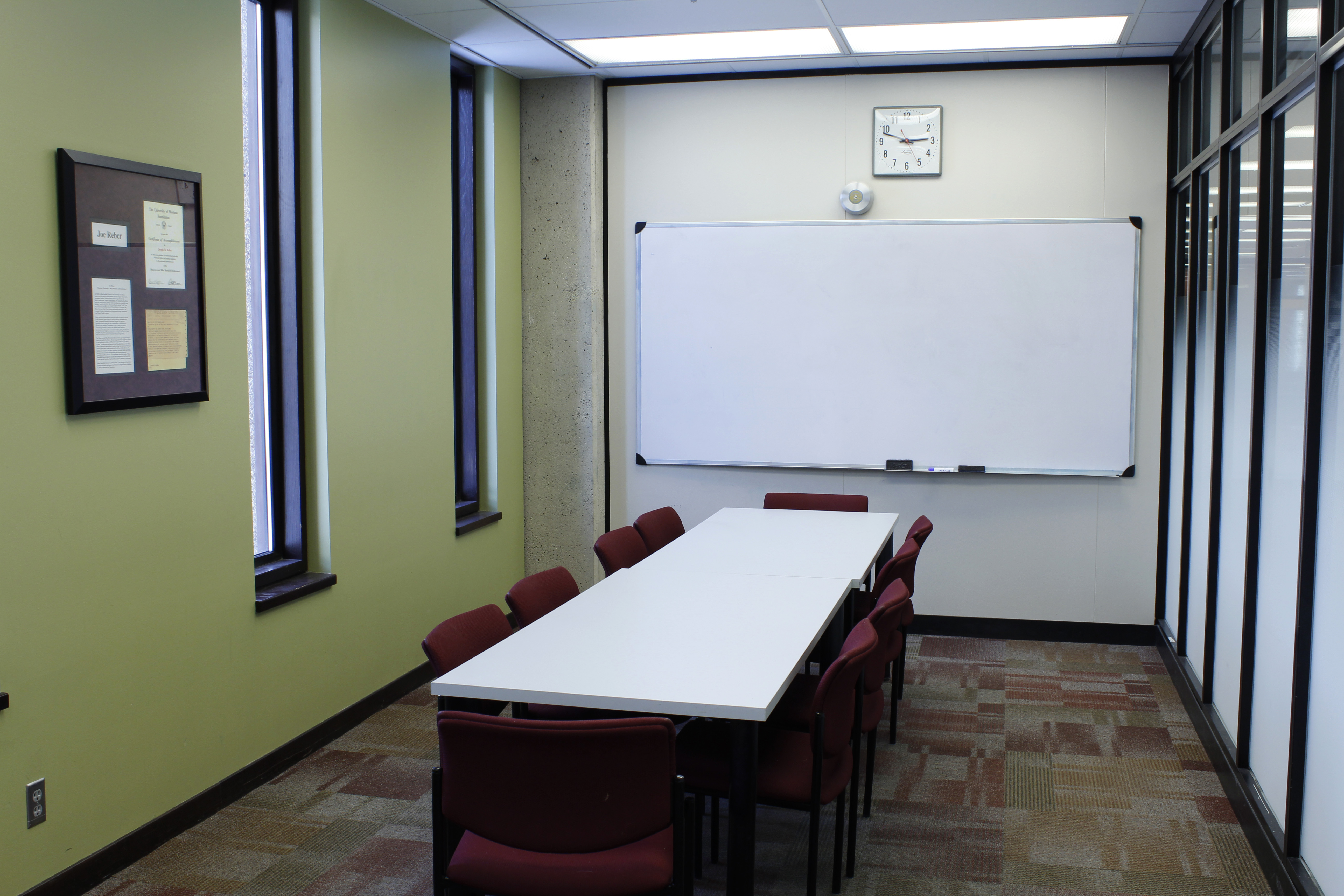 Mansfield Library Reserve Room