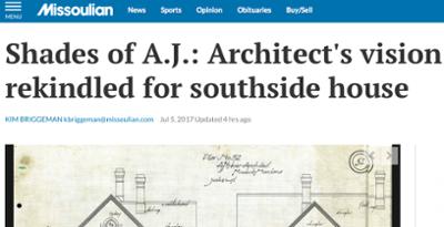 screenshot of Missourian article