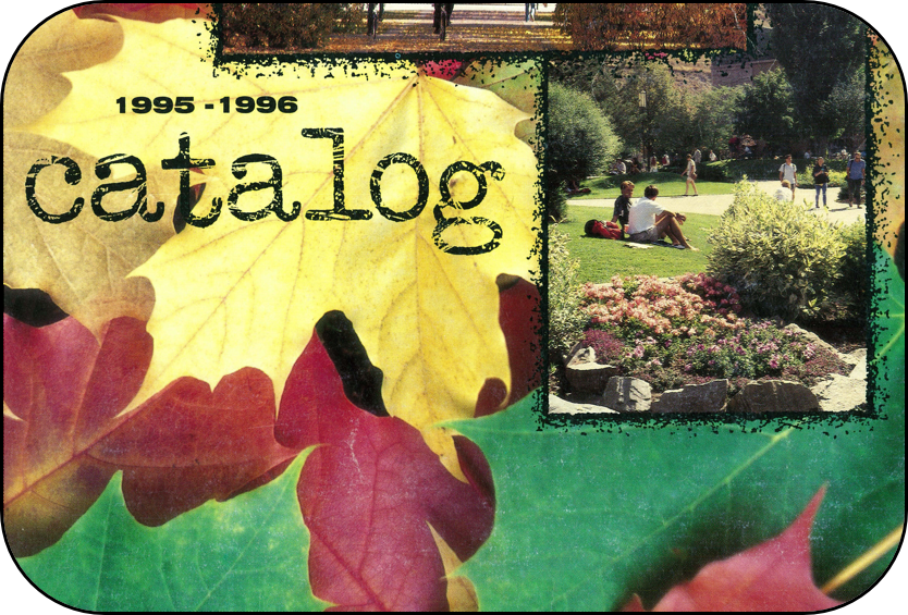 image from course catalog cover 1995-1996