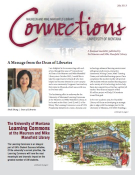 Connections Newsletter Cover