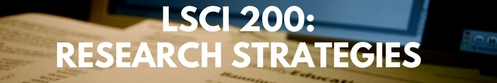 research strategies one credit summer 2017