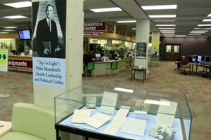photo of exhibit in the Information Center