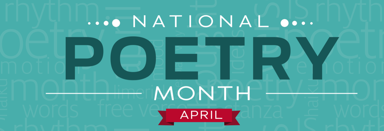 national poetry month 2017 banner