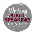 writing and public speaking center at the university of Montana logo