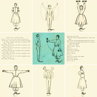 illustrations of men and women completing exercises from the Smart Method