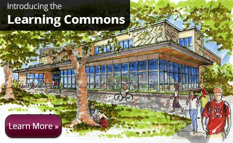 The University of Montana Learning Commons at the Maureen and Mike Mansfield Library